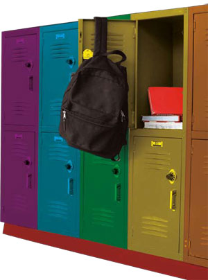 LGBTQ lockers
